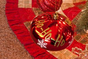 Holiday Decor Tree Ho Ho