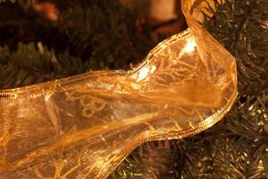 Holiday Decor Tree Ribbon