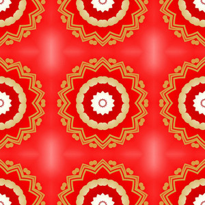 Holiday Decorative Floral Pattern