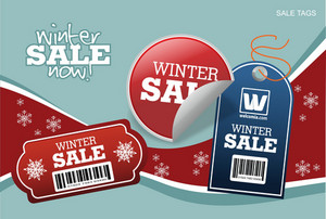 Holiday Price Labels