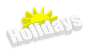 Holiday Sun Banner