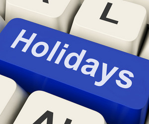 Holidays Key Means Leave Or Break
