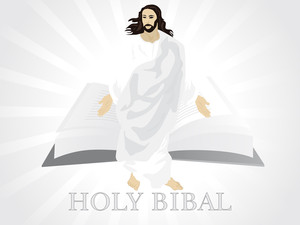 Holly Bibal With Jesus Christ