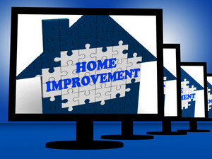 Home Improvement On Monitors Shows Home Design Shows