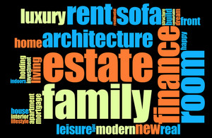Home Word Cloud