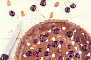 Homemade Chocolate Tart