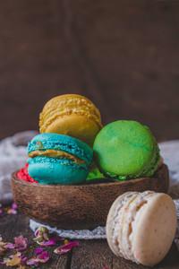 Homemade Macaroons Cookies