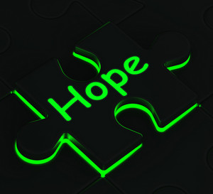Hope Puzzle Shows Wishes And Hopes