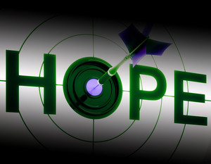 Hope Shows Sign Of Prayer And Faith