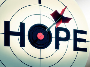 Hope Shows Sign Of Wishing And Hoping
