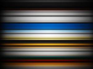 Horizontal Colorful Lines Background