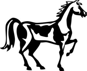 Horse Retro