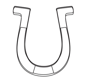 Horseshoe Shape Drawing