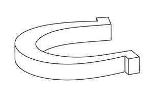 Horseshoe Vector Shape