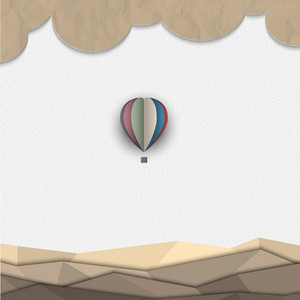 Hot Air Balloon From Paper