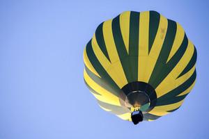 Hot Air Balloon on sky