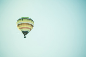 Hot Air Balloon on sky