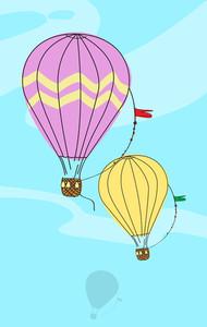 Hot Air Balloon.