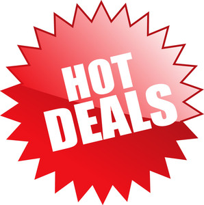 Hot Deals Sticker