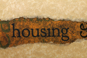 Housing Torn Paper Concept