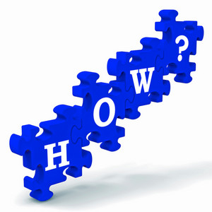 How? Puzzle Shows Different Ways To Solve Problems