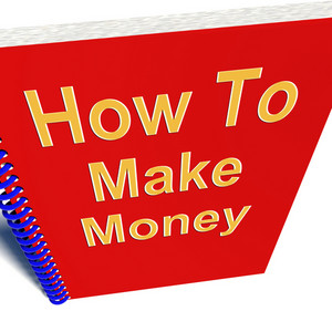 How To Make Money Book Showing Startup Business