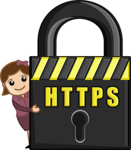 Https - Cartoon Vector