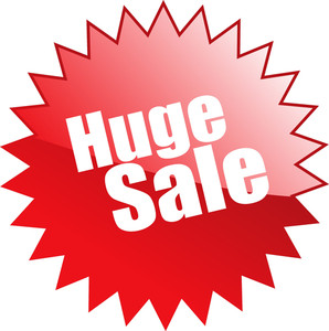 Huge Sale Sticker