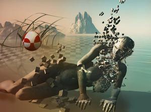 Human Body Shatter