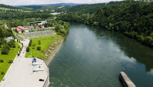 Hydroelectric Power Station, In Solina In Poland