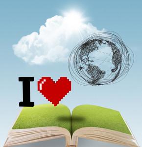 I Heart Earth Book Concept