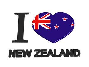 I Love New Zealand