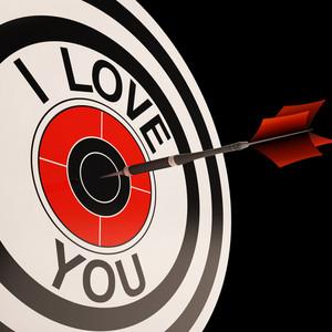 I Love You Target Shows Valentines Affection