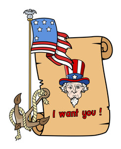 I Want You Uncle Sam 4th Of July