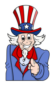 I Want You Uncle Sam Pointing Fingure To The Viewer
