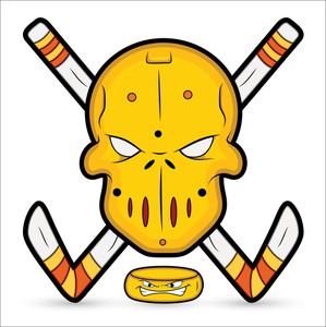 Ice Hockey Vector Mascot