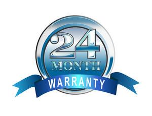Icon 24  Month Warranty Blue