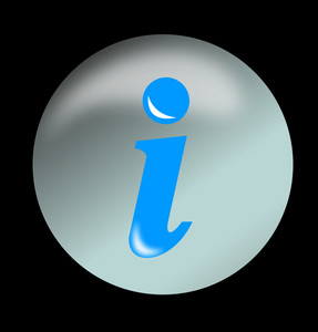 Icon Information Button