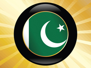 Icon With Pakistan Flag