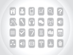 Icons With Background