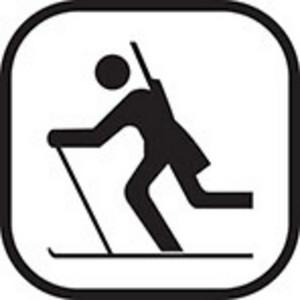 Skiing Clip Art