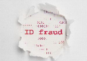 Id Fraud Pixel Text