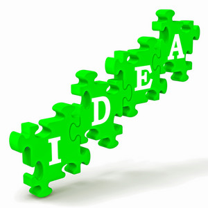 Idea Shows Improvement Concept Or Creativity