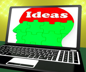 Ideas On Brain On Laptop Shows Technology Inventions