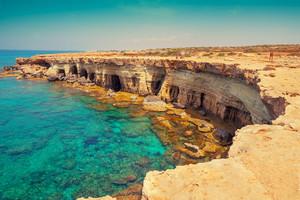 Igneous rocky sea coast
