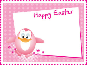 Illustration Easter Day Card