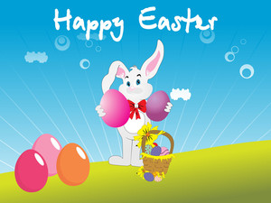 Illustration Easter Day Wallpaper