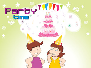 Illustration For Birthday Party