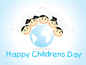 Illustration For Children's Day Celebration