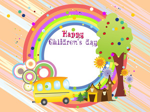 Illustration For Children's Day